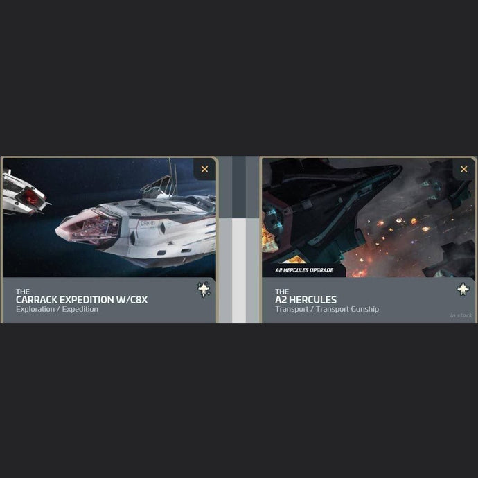 UPGRADE - CARRACK EXPEDITION W-C8X TO A2 HERCULES | Upgrade | JPEGS STORE | Space Foundry Marketplace.