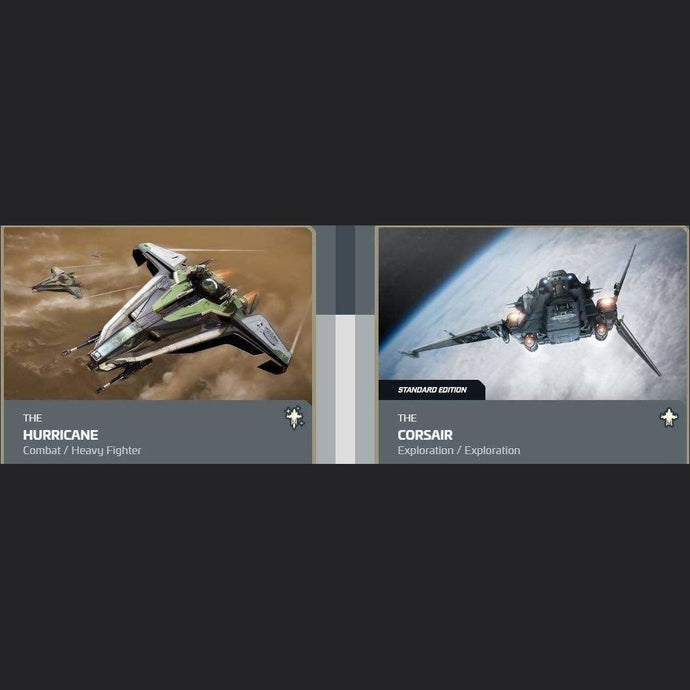 UPGRADE - HURRICANE TO CORSAIR | Upgrade | JPEGS STORE | Space Foundry Marketplace.