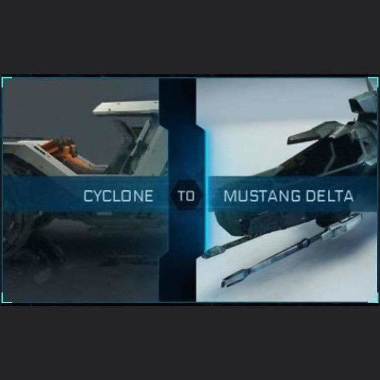 Cyclone to Mustang Delta | Might | Space Foundry Marketplace
