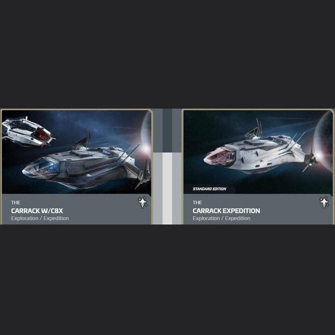 UPGRADE - CARRACK W/C8X TO CARRACK EXPEDITION | Upgrade | JPEGS STORE | Space Foundry Marketplace.