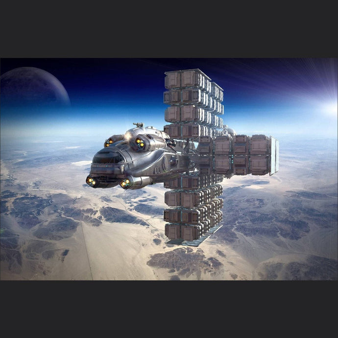 Hull E | Standalone Original Concept Ship | Jpeg_Warehouse | Space Foundry Marketplace.