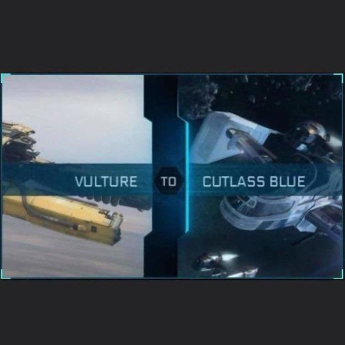Vulture to Cutlass Blue | Upgrade | Might | Space Foundry Marketplace.