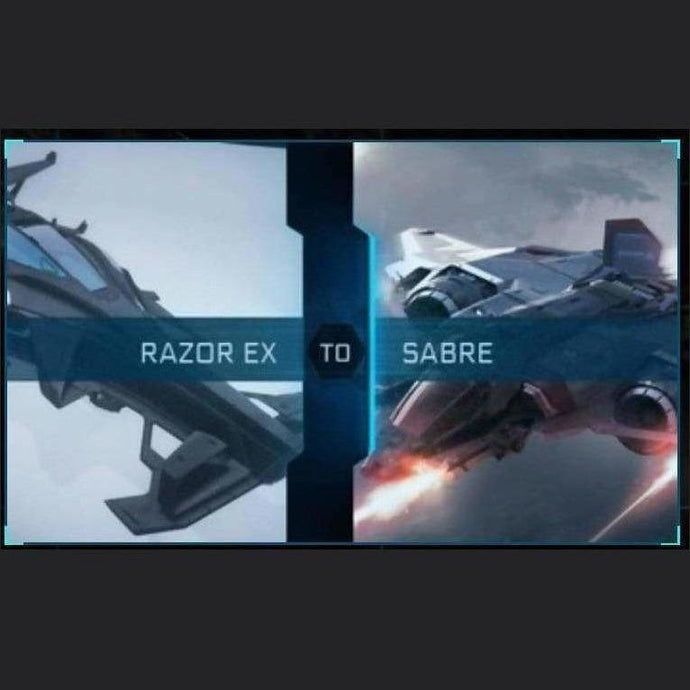 Razor EX to Sabre | Upgrade | Might | Space Foundry Marketplace.