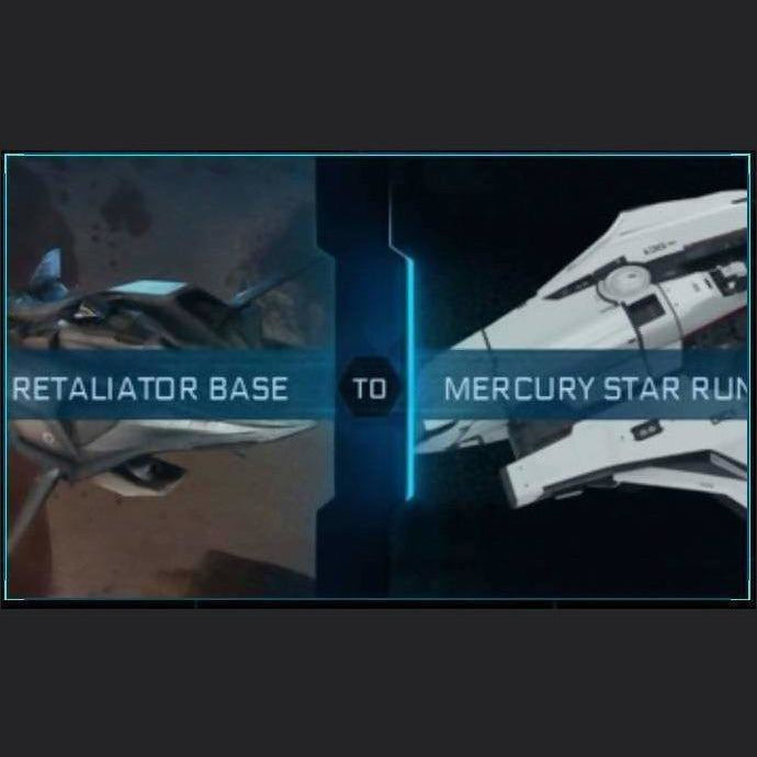 Retaliator Base to Mercury Star Runner | Upgrade | Might | Space Foundry Marketplace.