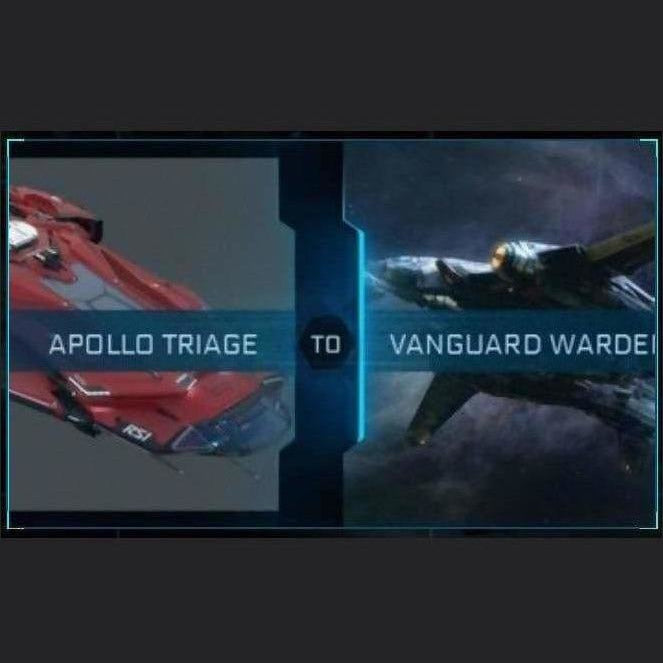 Apollo Tiage to Vanguard Warden | Upgrade | Might | Space Foundry Marketplace.