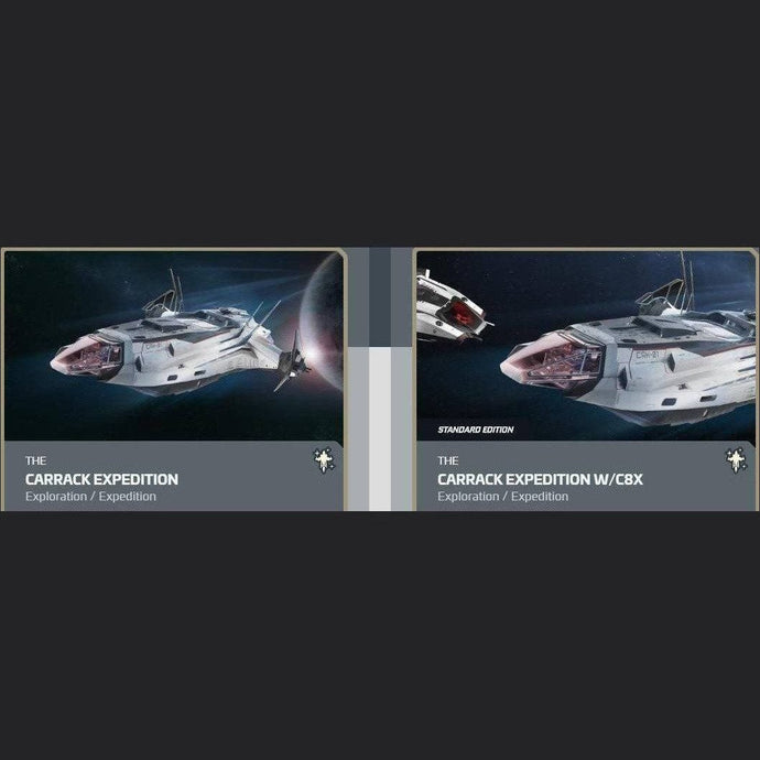 UPGRADE - CARRACK EXPEDITION TO CARRACK EXPEDITION W/C8X | Upgrade | JPEGS STORE | Space Foundry Marketplace.