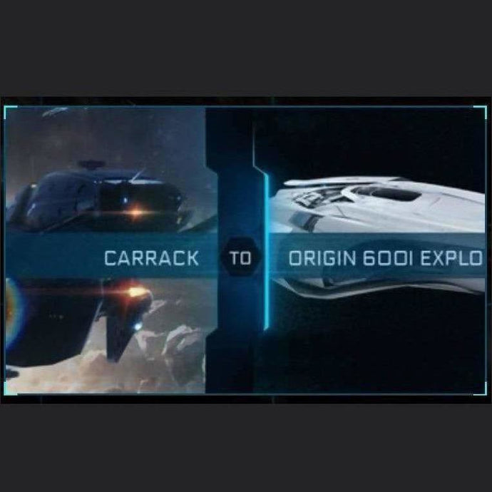 Carrack to 600i Explorer | Might | Space Foundry Marketplace