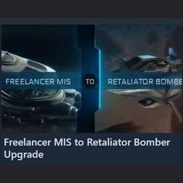 Freelancer MIS to Retaliator Bomber Upgrade | Upgrade | Jpeg_Warehouse | Space Foundry Marketplace.