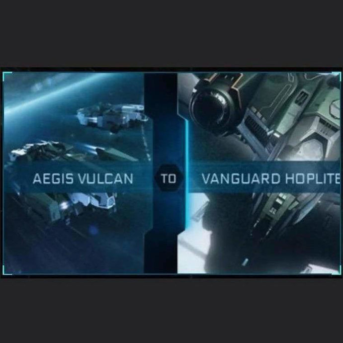 Vulcan to Vanguard Hoplite | Upgrade | Might | Space Foundry Marketplace.