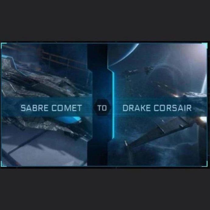 Sabre Comet to Corsair | Upgrade | Might | Space Foundry Marketplace.