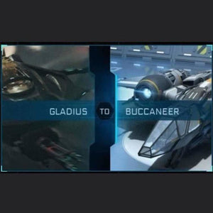 Gladius to Buccaneer | Upgrade | Might | Space Foundry Marketplace.
