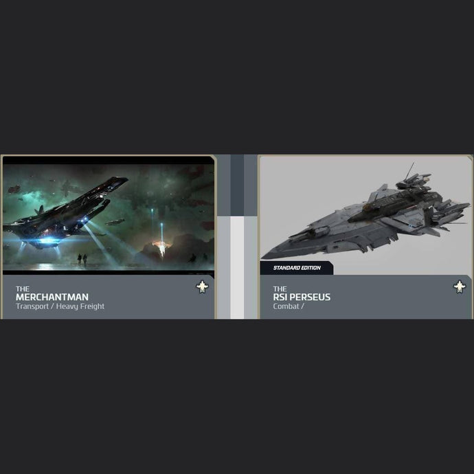 UPGRADE - MERCHANTMAN TO RSI PERSEUS | Upgrade | JPEGS STORE | Space Foundry Marketplace.