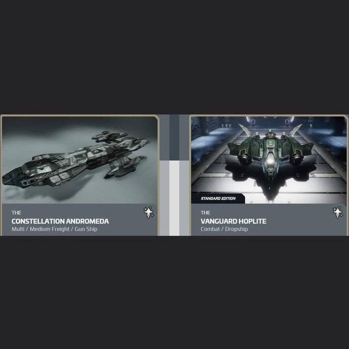 UPGRADE - CONSTELLATION ANDROMEDA TO VANGUARD HOPLITE | Upgrade | JPEGS STORE | Space Foundry Marketplace.