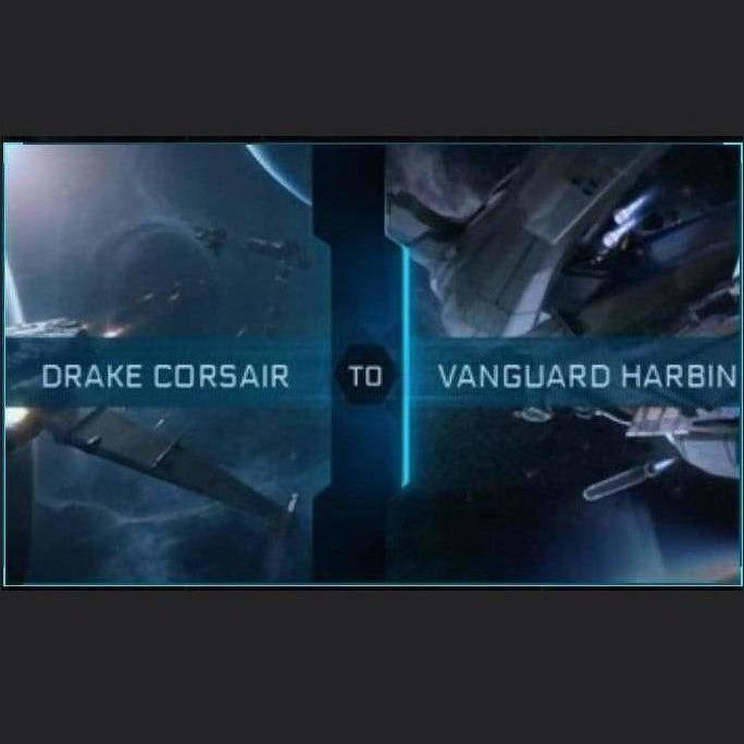 Corsair to Vanguard Harbinger | Upgrade | Might | Space Foundry Marketplace.