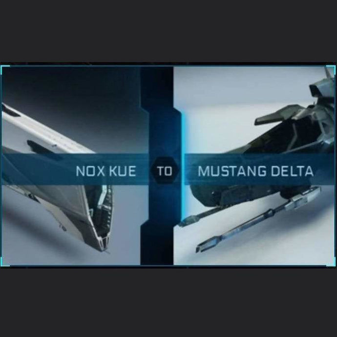 Nox Kue to Mustang Delta | Upgrade | Might | Space Foundry Marketplace.