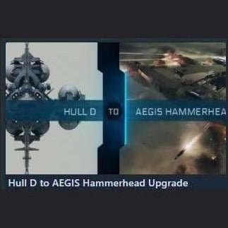 Hull D to AEGIS Hammerhead Upgrade | Upgrade | Jpeg_Warehouse | Space Foundry Marketplace.