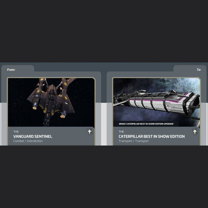 Vanguard Sentinel to Caterpillar Best In Show | Upgrade | Might | Space Foundry Marketplace.