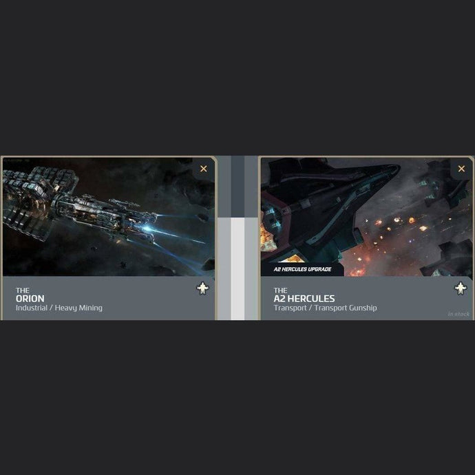 UPGRADE - ORION TO A2 HERCULES | Upgrade | JPEGS STORE | Space Foundry Marketplace.