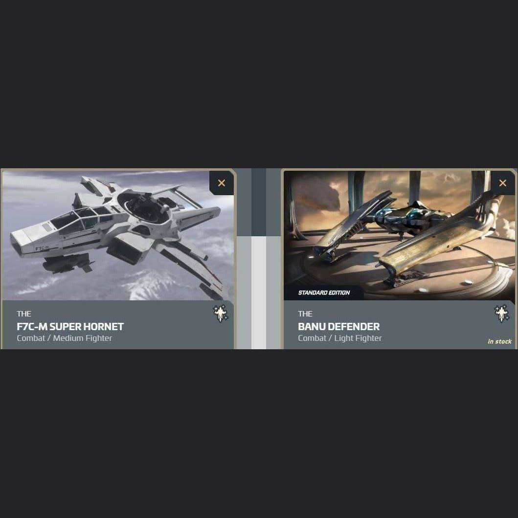 UPGRADE - F7C-M SUPER HORNET TO BANU DEFENDER | Upgrade | JPEGS STORE | Space Foundry Marketplace.