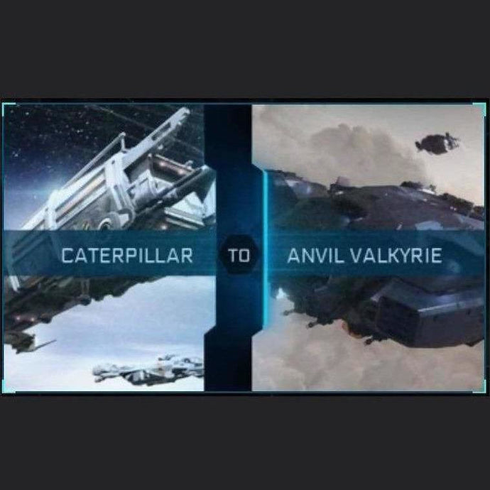 Caterpillar to Valkyrie | Might | Space Foundry Marketplace
