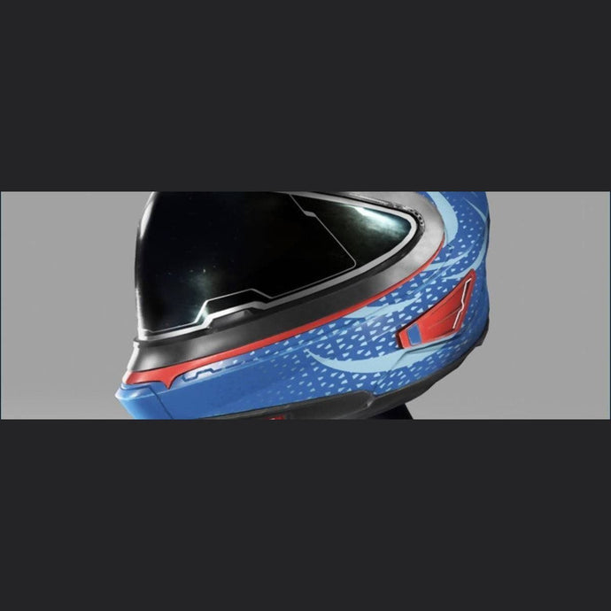 ADD-ONS - GIOCOSO HELMET - AZURE | Might | Space Foundry Marketplace.