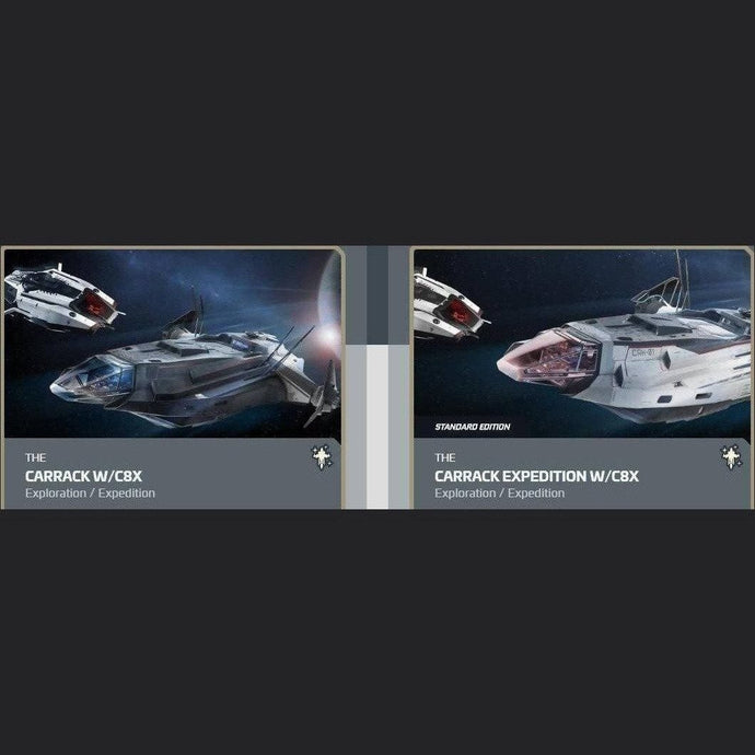 UPGRADE - CARRACK W/C8X TO CARRACK EXPEDITION W/C8X | Upgrade | JPEGS STORE | Space Foundry Marketplace.
