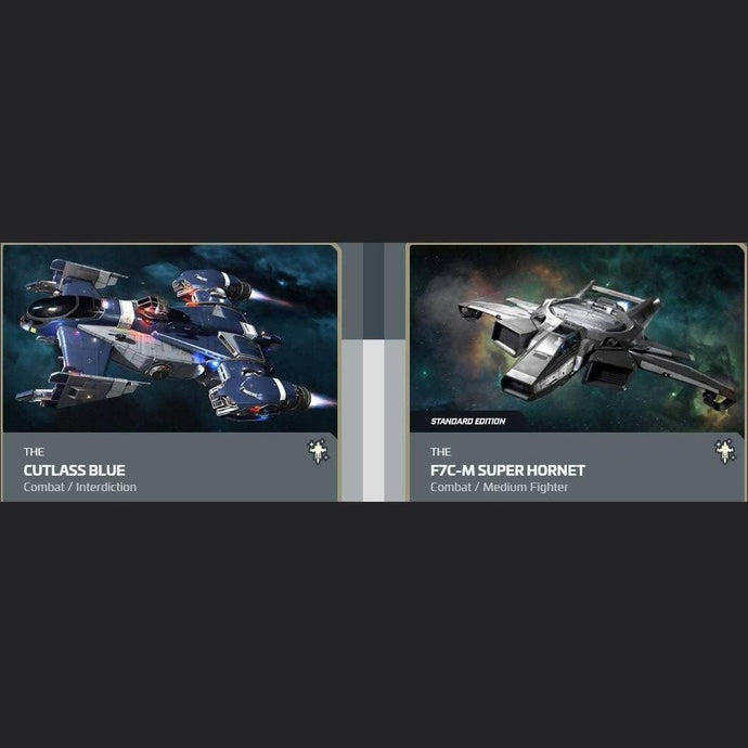 UPGRADE - CUTLASS BLUE TO F7C-M SUPER HORNET | Upgrade | JPEGS STORE | Space Foundry Marketplace.
