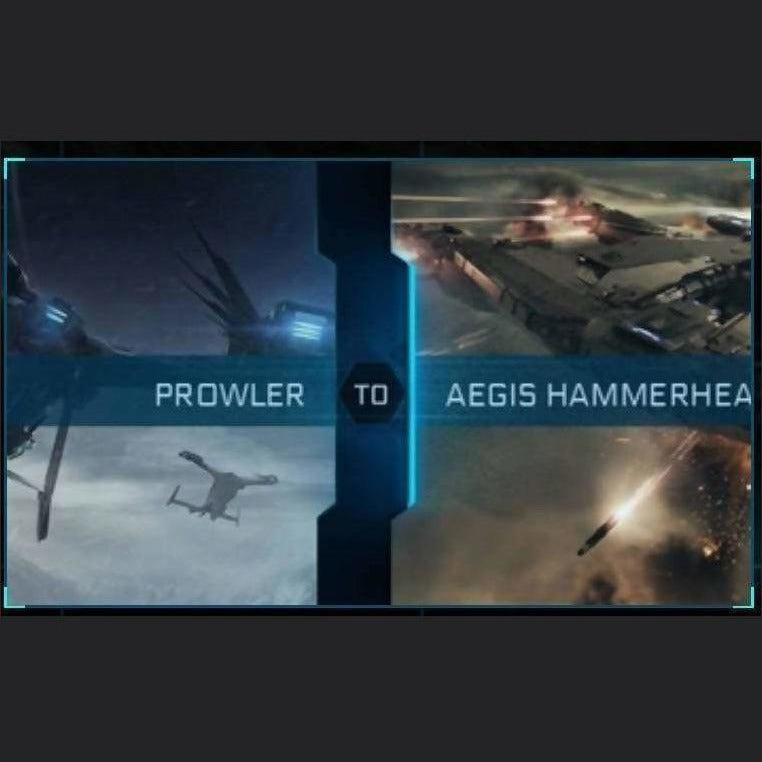 Prowler to Hammerhead | Upgrade | Might | Space Foundry Marketplace.