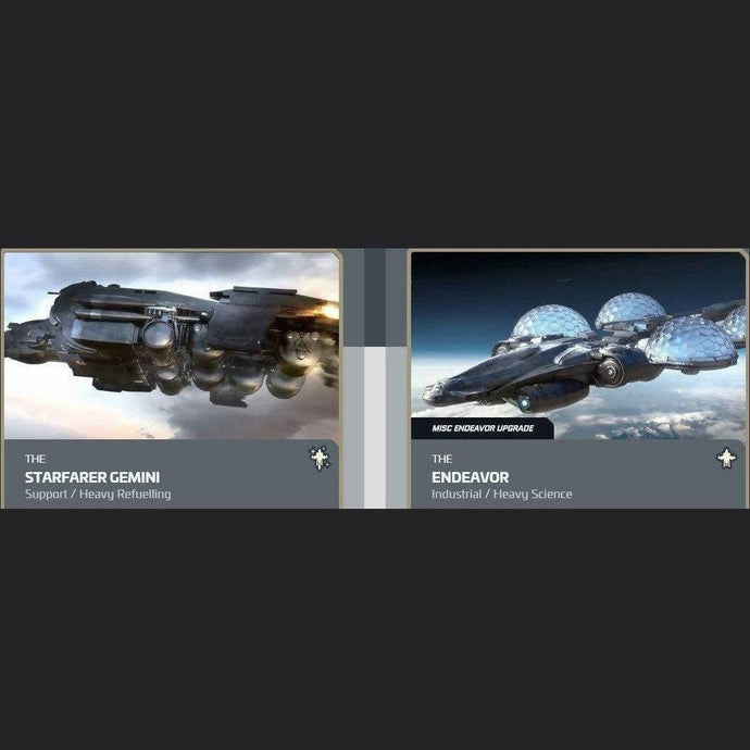 UPGRADE - STARFARER GEMINI TO ENDEAVOR | Upgrade | JPEGS STORE | Space Foundry Marketplace.