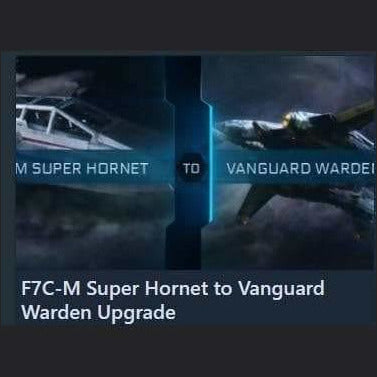 F7C-M Super Hornet to Vanguard Warden Upgrade