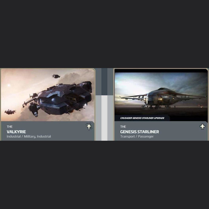 UPGRADE - VALKYRIE TO GENESIS STARLINER | Upgrade | JPEGS STORE | Space Foundry Marketplace.
