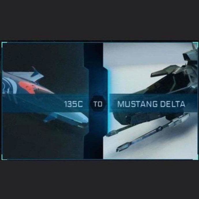 135c to Mustang Delta | Upgrade | Might | Space Foundry Marketplace.