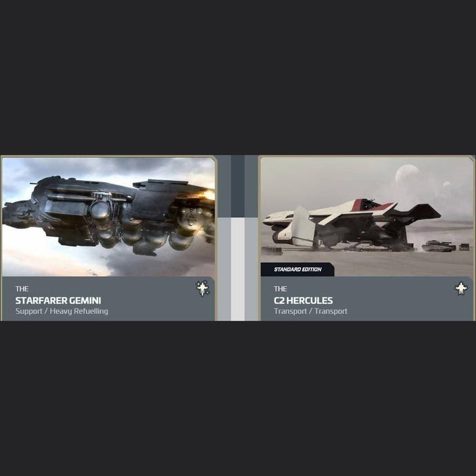 UPGRADE - STARFARER GEMINI TO C2 HERCULES | Upgrade | JPEGS STORE | Space Foundry Marketplace.