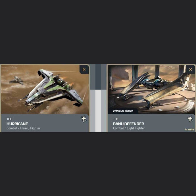 UPGRADE - HURRICANE TO BANU DEFENDER | Upgrade | JPEGS STORE | Space Foundry Marketplace.