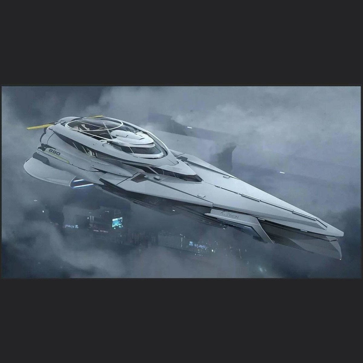 Standalone Original Concept Ship | Might | Space Foundry Marketplace.