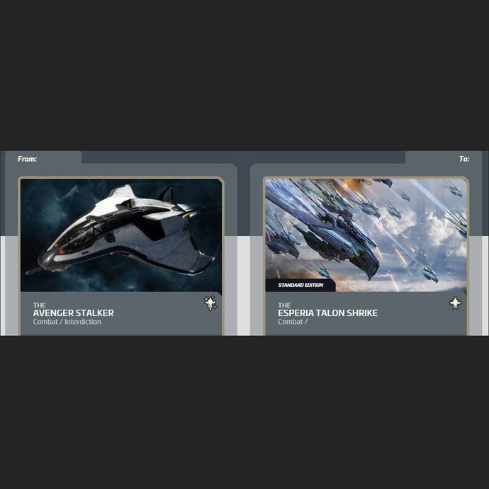 Avenger Stalker to Esperia Talon Shrike Standard Edition | Upgrade | Jpeg_Warehouse | Space Foundry Marketplace.