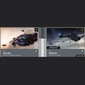 UPGRADE - VALKYRIE TO PROWLER | Upgrade | JPEGS STORE | Space Foundry Marketplace.