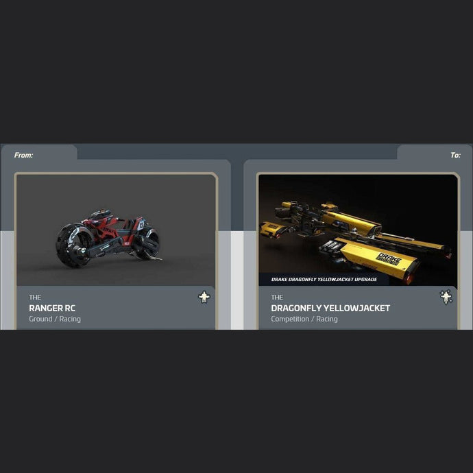 Ranger RC to Dragonfly Yellowjacket | Upgrade | Might | Space Foundry Marketplace.