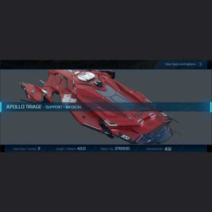 APOLLO TRIAGE - LTI - CCUed | Standalone CCU'd Ship | JPEGS STORE | Space Foundry Marketplace.