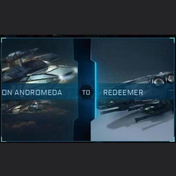 Constellation Andromeda to Redeemer | Upgrade | Might | Space Foundry Marketplace.