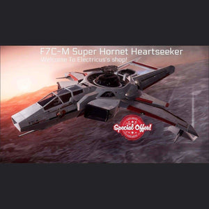 The F7C-M Super Hornet Heartseeker LTI CCUed | Official Store by Electricus | Space Foundry Marketplace