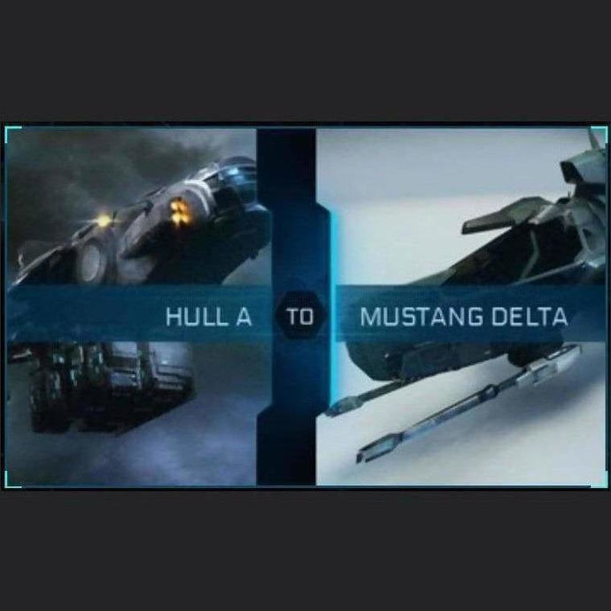 Hull A to Mustang Delta | Upgrade | Might | Space Foundry Marketplace.
