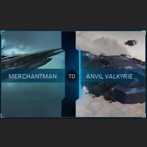 Merchantman to Valkyrie | Upgrade | Might | Space Foundry Marketplace.