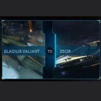 Gladius Valiant to 350R | Might | Space Foundry Marketplace