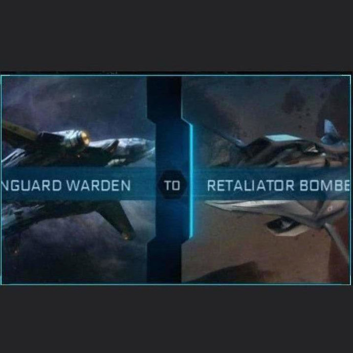 Vanguard Warden to Retaliator Bomber | Upgrade | Might | Space Foundry Marketplace.