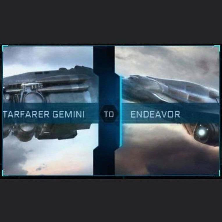 Starfarer Gemini to Endeavor | Might | Space Foundry Marketplace