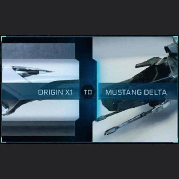 X1 Base to Mustang Delta | Upgrade | Might | Space Foundry Marketplace.