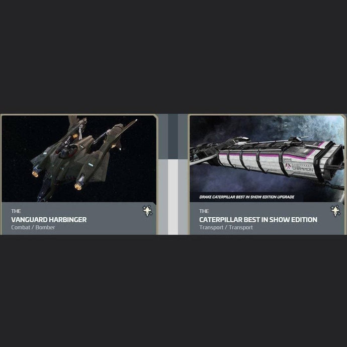 UPGRADE - VANGUARD HARBINGER TO CATERPILLAR BEST IN SHOW | Upgrade | JPEGS STORE | Space Foundry Marketplace.