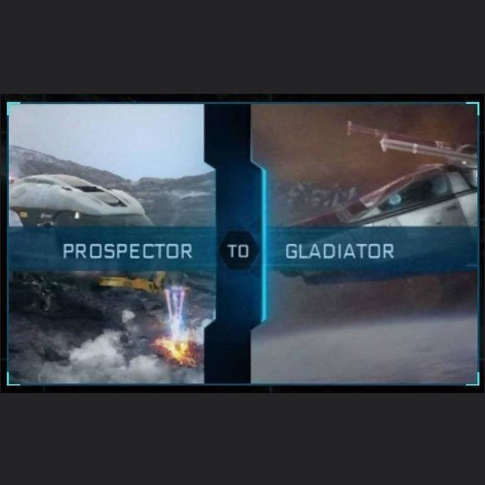 Prospector to Gladiator | Upgrade | Might | Space Foundry Marketplace.