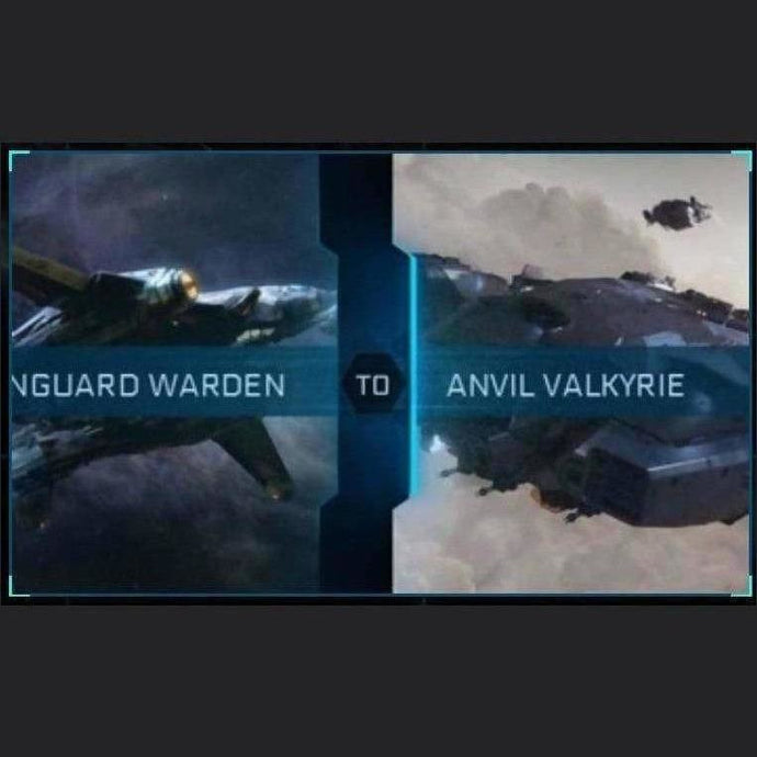 Vanguard Warden to Valkyrie | Upgrade | Might | Space Foundry Marketplace.